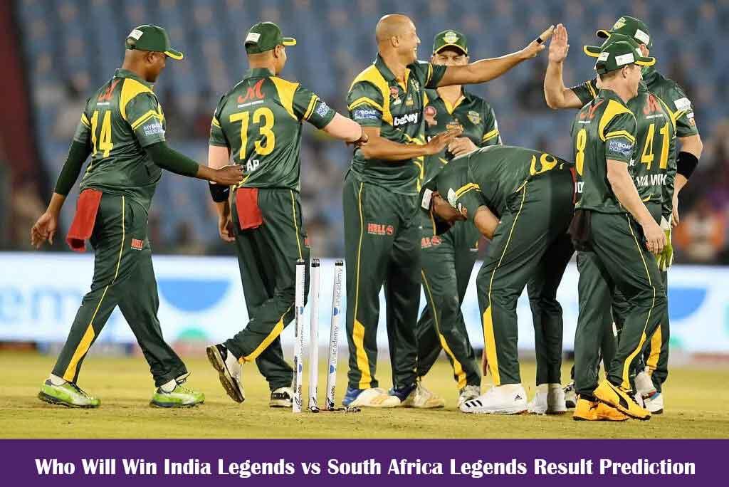 India Legends vs South Africa Legends Result Prediction