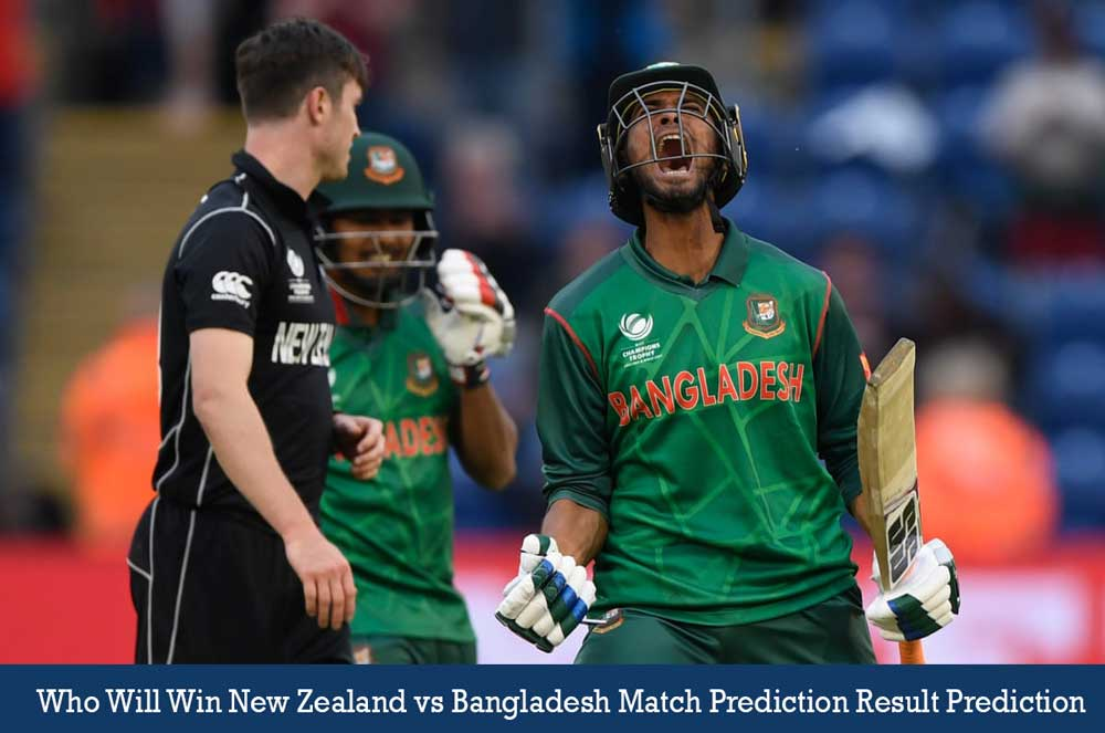 NZ vs BAN 2nd ODI Match Prediction