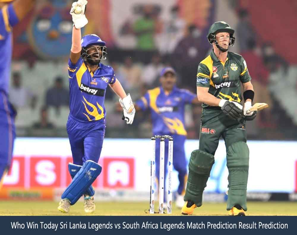 ISLL vs RSAL Road Safety World Series Match Prediction Result Prediction