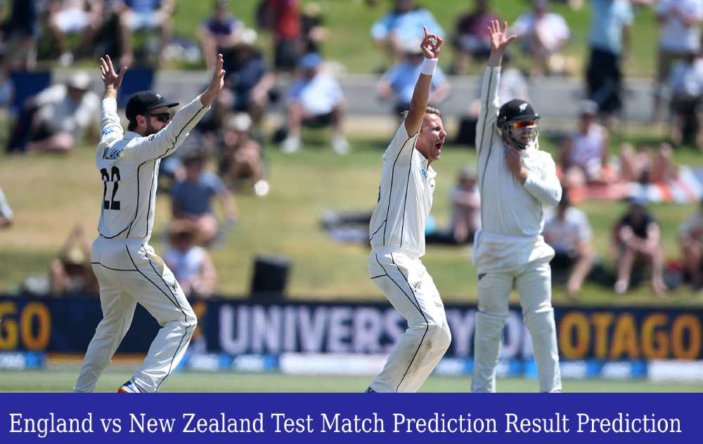 Who Will Win Today ENG vs NZ 1st Test Match Prediction