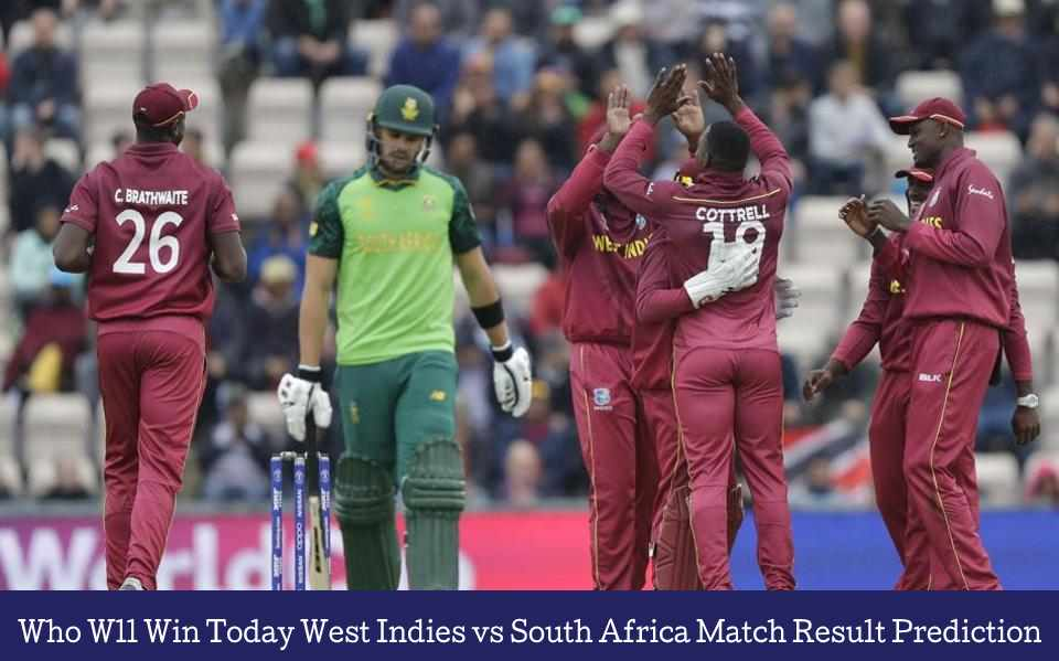 WI vs RSA Astrology match prediction, Today Match Result Prediction