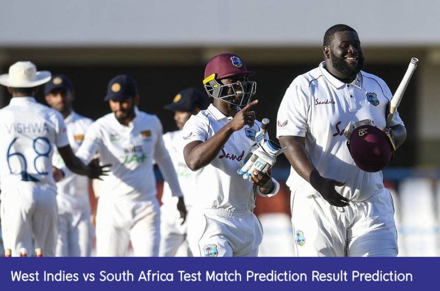 Who Will Win Today WI vs RSA 1st Test Match Prediction