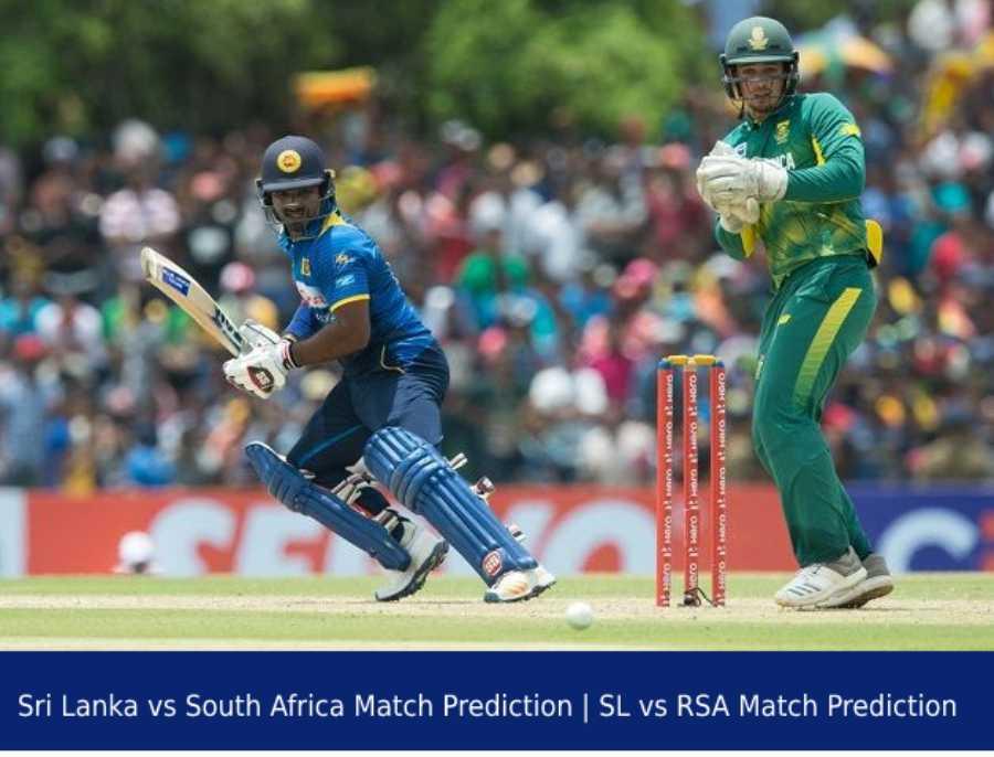 Sri Lanka vs South Africa Match Prediction _ SL vs RSA Match Prediction
